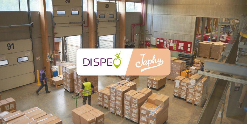 JAPHY confie ses opérations préparation logistiques à DISPEO