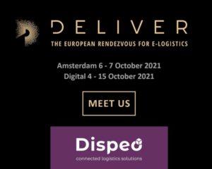 Dispeo au salon Deliver, Amsterdam